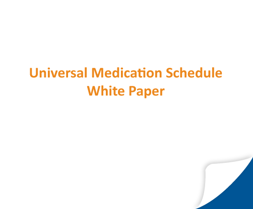 Universal Medication Schedule White Paper